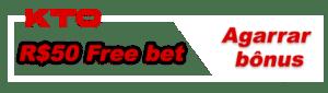 A KTO oferece R$50 em aposta grátis