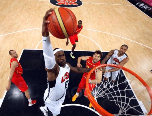 basquete é um esporte muito apostado por todo o mundo